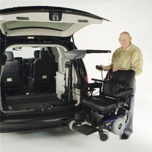 bruno van lift wheelchair