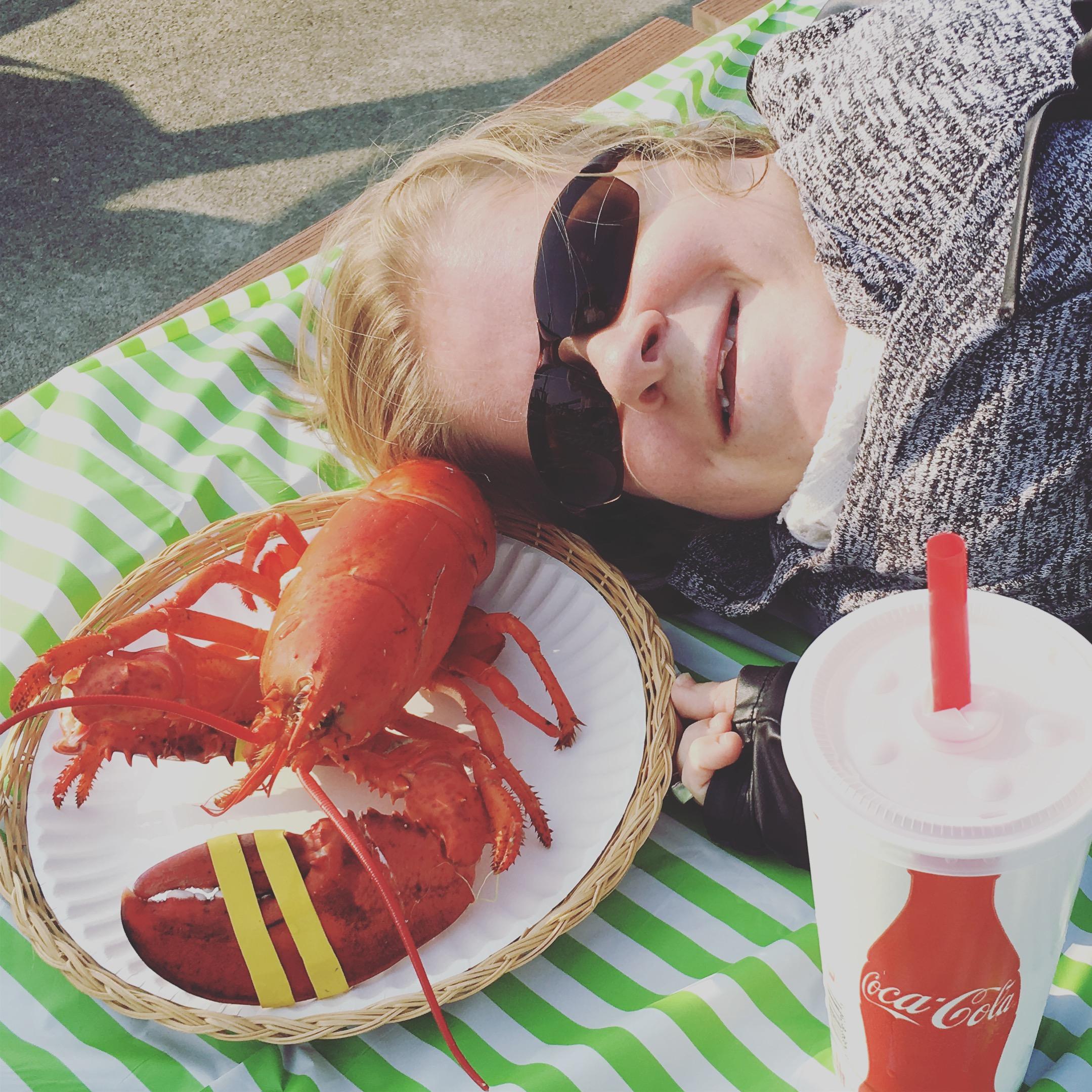 lobster, maine, wheelchair